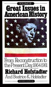 From Reconstruction to the Present Day, 1864-1981