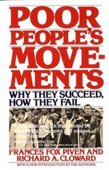 Poor People's Movements | Frances Fox Piven |