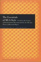 The Essentials of MLA Style