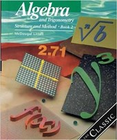Algebra and Trigonometry, Grades 10-12 Structure and Method Book 2