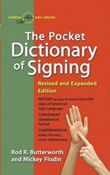 The Pocket Dictionary of Signing | Rod R. Butterworth |