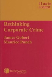 Rethinking Corporate Crime