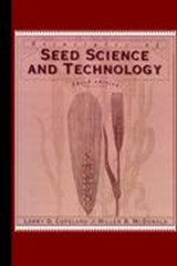 Principles of Seed Science and Technology | Lawrence O. Copeland |