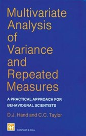 Multivariate Analysis of Variance and Repeated Measures