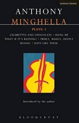 Minghella Plays | Anthony Minghel |