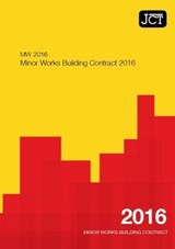 JCT:Minor Works Building Contract 2016 (MW) |  |