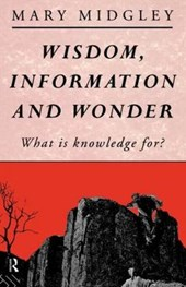 Wisdom, Information, and Wonder