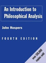 An Introduction to Philosophical Analysis | Usa) Hospers John (university Of Southern California |
