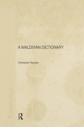 A Maldivian Dictionary