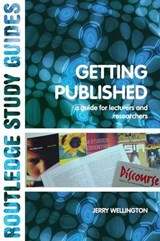 Getting Published | Jerry Wellington |