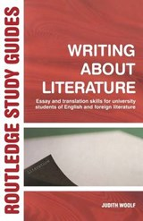 Writing About Literature | Judith Woolf |