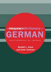 A Frequency Dictionary of German | Erwin Tschirner |