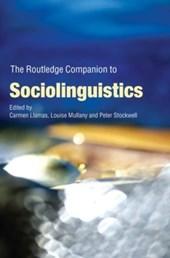 Routledge Companion to Sociolinguistics