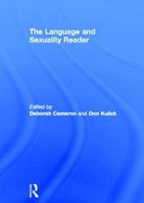 The Language And Sexuality Reader | Don Kulick |