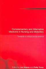 Complementary And Alternative Medicine in Nursing And Midwifery | auteur onbekend |