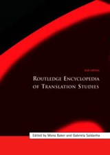 Routledge Encyclopedia of Translation Studies | Mona Baker |