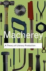 Theory of Literary Production | Pierre Macherey |