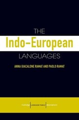 The Indo-European Lanagues |  |