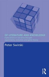 Of Literature and Knowledge | Peter Swirski |