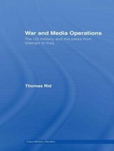 War and Media Operations | Thomas Rid |