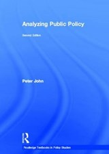 Analyzing Public Policy | Peter John |