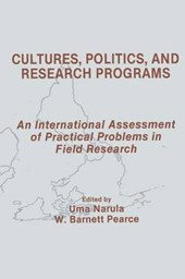 Cultures, Politics, and Research Programs
