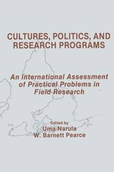 Cultures, Politics, and Research Programs |  |