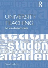 University Teaching | Tony Harland |