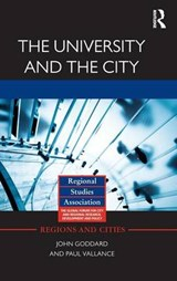 The University and the City | Goddard, John ; Vallance, Paul |