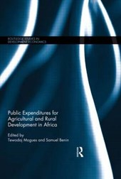 Public Expenditures for Agricultural and Rural Development in Africa