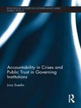 Accountability in Crises and Public Trust in Governing Institutions | Lina Svedin |