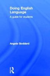 Doing English Language | Angela Goddard |