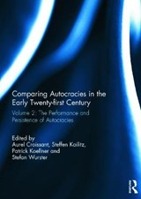 Comparing Autocracies in the Early Twenty-First Century Vol | auteur onbekend |