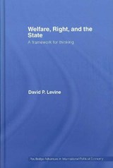 Welfare, Right and the State | David P. Levine |