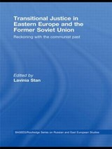 Transitional Justice in Eastern Europe and the former Soviet Union | auteur onbekend |