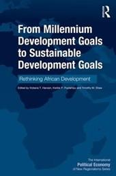 From Millennium Development Goals to Sustainable Development Goals