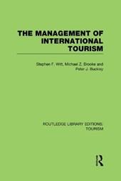 The Management of International Tourism