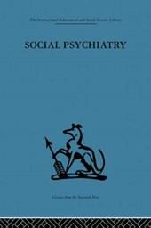 Social Psychiatry