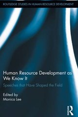 Human Resource Development As We Know It |  |
