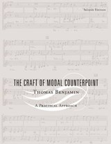 The Craft Of Modal Counterpoint | Thomas Benjamin |