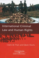 International Criminal Law & Human Rights | Claire De Than |