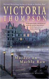 Murder on Marble Row | Victoria Thompson |