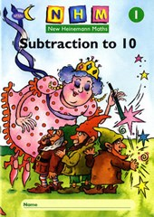 New Heinemann Maths Yr1, Subtraction to 10 Activity Book (8