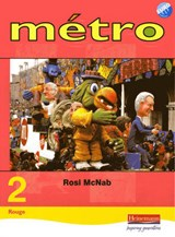 Metro 2 Rouge Pupil Book Euro Edition | Rosi McNab |