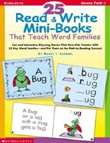 25 Read & Write Mini-Books | Nancy I. Sanders |