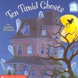Ten Timid Ghosts | Jennifer O'connell |