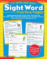 100 Write-And-Learn Sight Word Practice Pages | Scholastic Teaching Resources |
