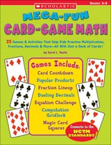 Mega-fun Card-Game Math | Karol L. Yeatts |