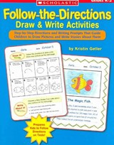 Follow-The-Directions Draw & Write Activities | Kristin Geller |