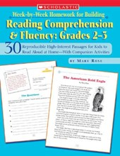 Week-by-week Homework for Building Reading Comprehension and Fluency